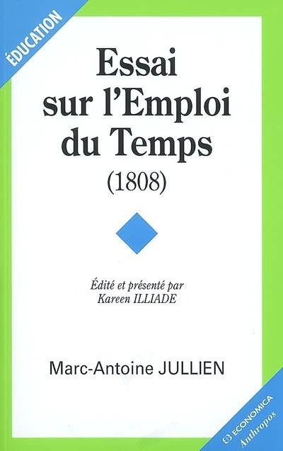 Essai sur l'emploi du temps - 1808