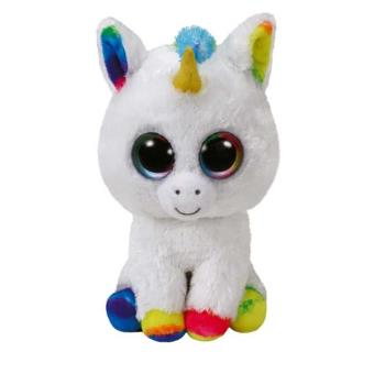 peluche pixy la licorne beanie boo 39 s ty medium 33 cm animal en peluche achat prix fnac. Black Bedroom Furniture Sets. Home Design Ideas