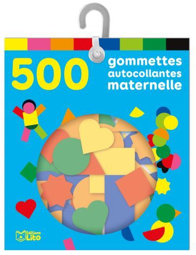 500 gommettes autocollantes maternelles