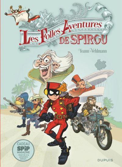 Spirou et Fantasio - Hors-série - Tome 5 - Les Folles Aventures de Spirou - 9782800183763 - 8,99 €