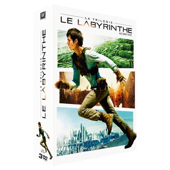 L'épreuveLe Labyrinthe La Trilogie Coffret DVD