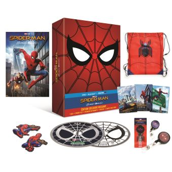 Spider-ManSpider-Man : Homecoming  Coffret Edition limitée Blu-ray DVD