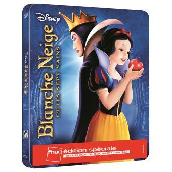 BLANCHE NEIGE BONUS-FR-FNAC-STEELBOOK BLURAY+DVD