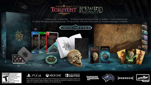 Planescape Torment + Icewind Dale Enhanced Edition Collector Nintendo Switch