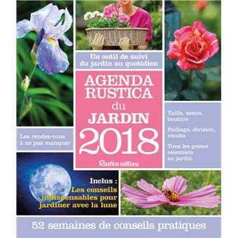 Agenda Rustica 2018 Du Jardin Broche Robert Elger Achat Livre