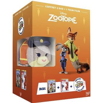 ZootopieCoffret Zootopie Les nouveaux héros DVD