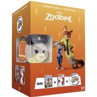Coffret Zootopie Les nouveaux héros DVD