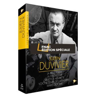 DUVIVIER-FR-COFFRET 5BLURAY