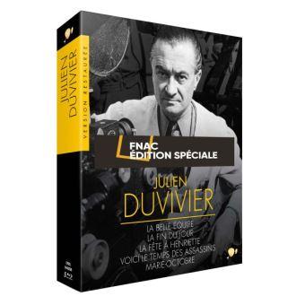 Coffret Duvivier Edition Spéciale Fnac Blu-ray