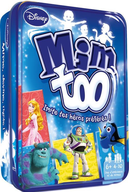 Un jeu de mimes pour toute la famille 100% Disney, multi-licences !