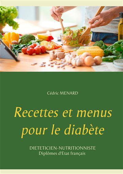 Recettes et menus pour le diabète
