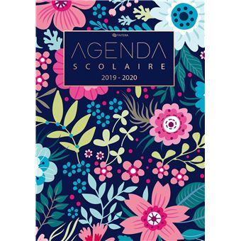 Calendrier Agenda 2020.Agenda Scolaire 2019 2020 Calendrier De Aout 2019 A Aout 2020 Et Agenda Semainier Et Agenda Journalier Scolaire Pour L Annee Scolaire Cadeau