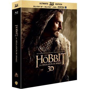 Bilbo le HobbitLe Hobbit : La désolation de Smaug Combo Blu-Ray 3D + DVD