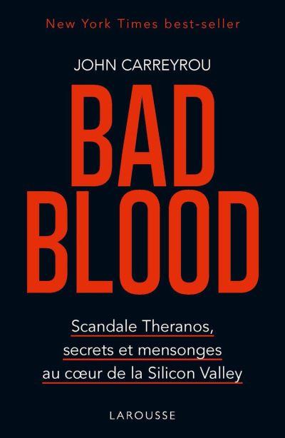 Bad blood - 9782035969095 - 14,99 €
