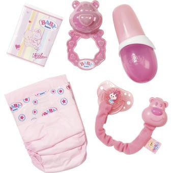Set 5 Accessoires Baby Born Lansay