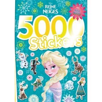 La reine des neiges livre avec 5 000 stickers la reine - Regarder la reine des neige ...