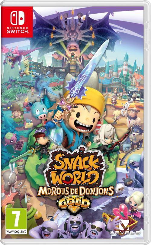 Snack World Mordus de Donjons Edition Gold Nintendo Switch