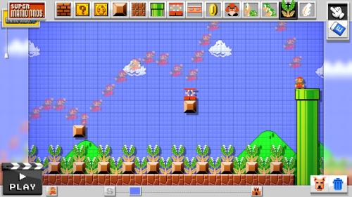 Mario Maker Wii U - Nintendo Wii U
