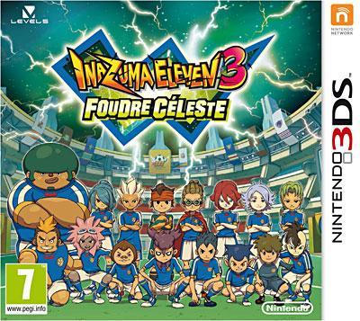 Inazuma Eleven 3 Foudre Céleste 3DS - Nintendo 3DS