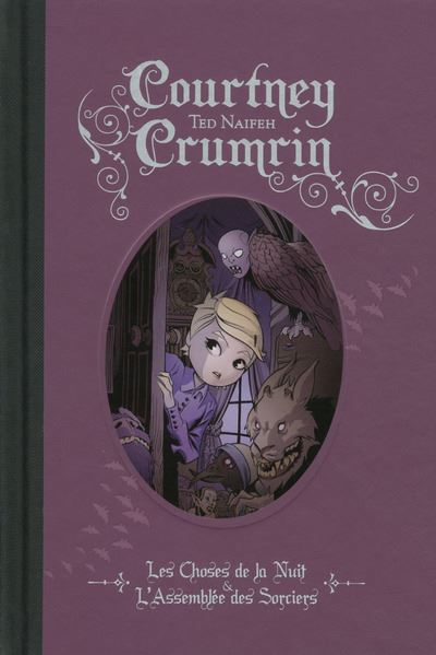 Courtney Crumrin - Intégrale couleur 1 - tome 1 - Les Choses De La Nuit L Assemblee Des Sorciers - Courtney Crumrin Integrale