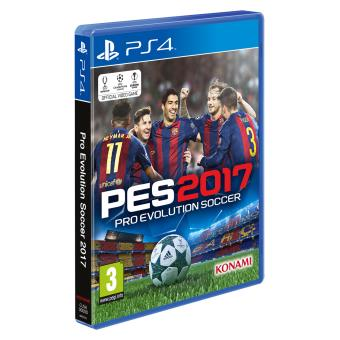 pes 2017 ps4 sur playstation 4 jeux vid o fnac. Black Bedroom Furniture Sets. Home Design Ideas