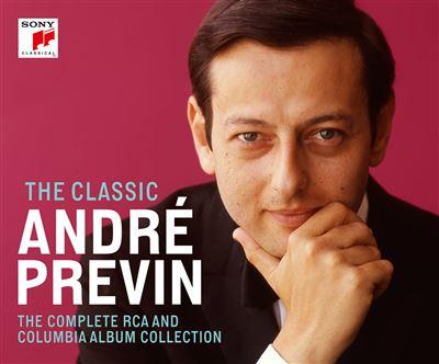 The Classic André Previn The Complete Rca & Columbia Album Coffret 54 Cd Inclus Un Livret De 96 Pages