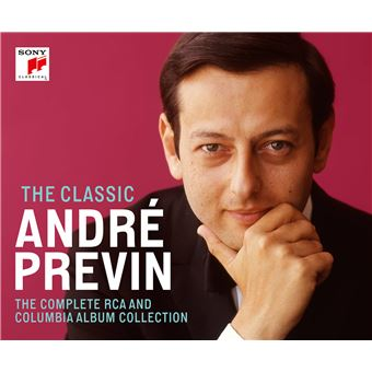 The Classic André Previn The Complete RCA & Columbia Album Coffret 54 CD Inclus un livret de 96 pages