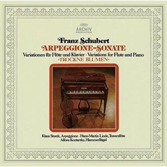 Schubert : Arpeggione Sonata Variations for flute and piano SHM-CD