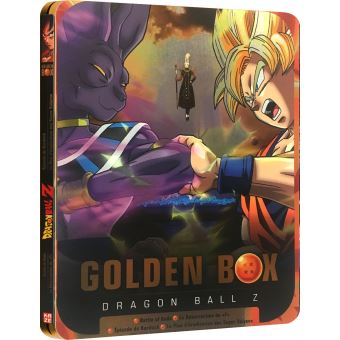 Dragon Ball ZCoffret Dragon Ball Z Golden Box Steelbook 2 Films et 2 OAV DVD