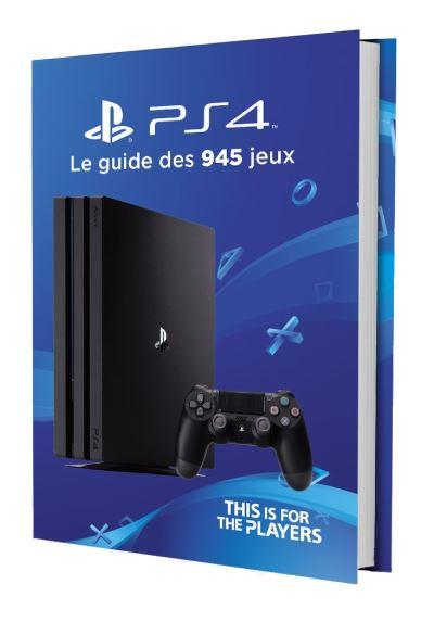 Le guide des 945 jeux PS4