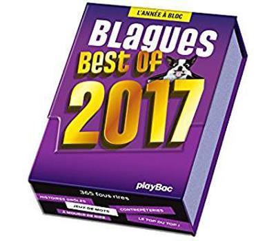 Calendrier Best of Blagues 2017 - L'Année à Bloc
