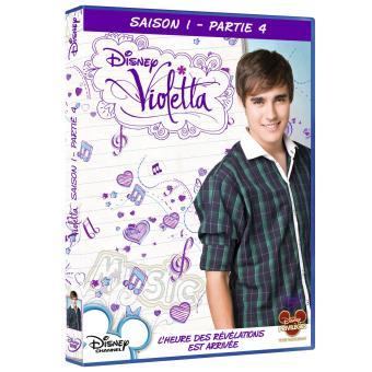 ViolettaCoffret de la Saison 1 Partie 4 - DVD
