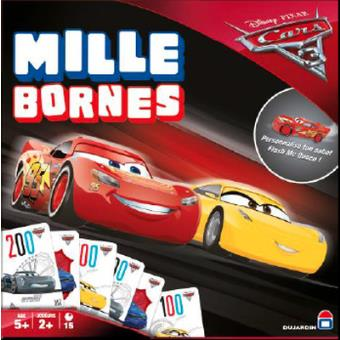 mille bornes cars 3 dujardin jeu de cartes achat prix fnac. Black Bedroom Furniture Sets. Home Design Ideas
