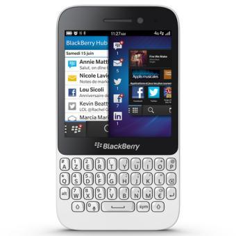 Smartphone BLACKBERRY Q5 BLANC 8GO