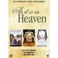 AS IT IS HEAVEN-DE 3 MOOISTE FILMS OVER KOREN-BOX-NL