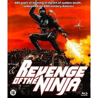 REVENGE OF THE NINJA-NL-BLURAY