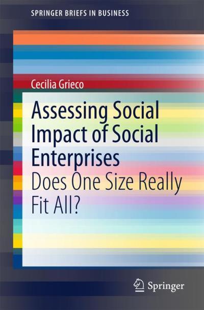 Assessing social impact of social enterprises