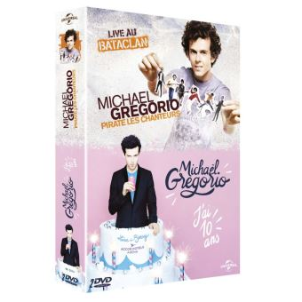 Coffret Michael Gregorio 2 spectacles DVD