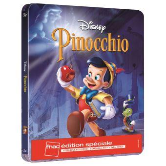 PINOCCHIO-FR-FNAC-STEELBOOK BLURAY+DVD