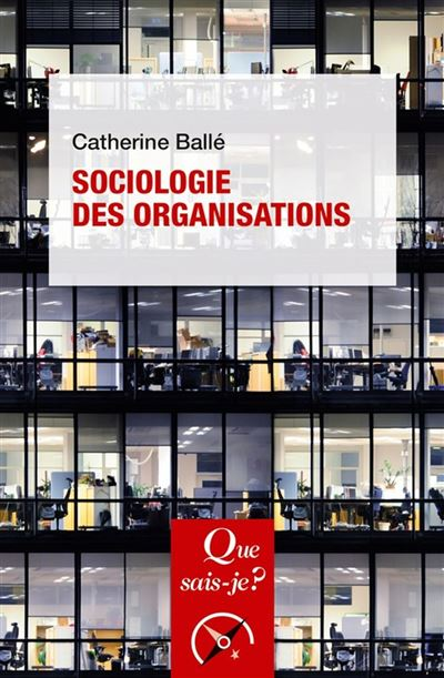 Sociologie des organisations - 9782715405929 - 6,99 €