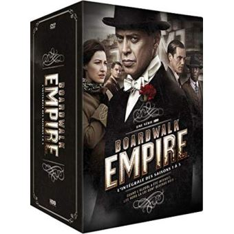 Boardwalk EmpireCoffret Boardwalk Empire Saisons 1 à 5 Edition Spéciale Fnac DVD