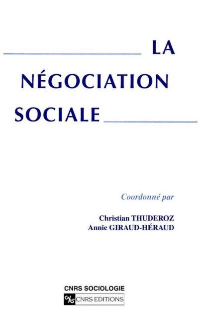 La négociation sociale - 9782271078292 - 7,99 €