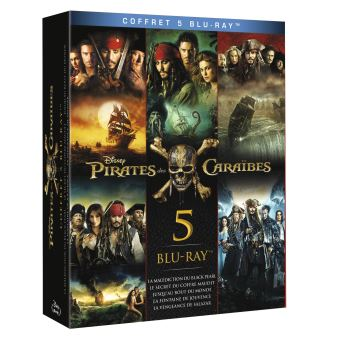Pirate Des CaraïbesPIRATES 1-2-FR-BLURAY