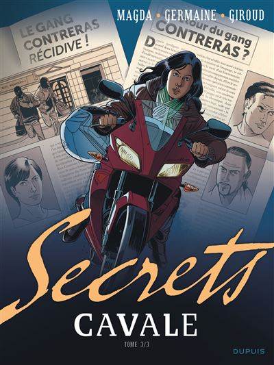 Secrets, Cavale - Tome 3 - Secrets Cavale