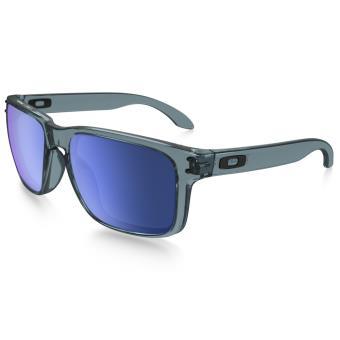 Lunettes de soleil Oakley Holbrook Grise et bleue - Lunettes ... 492f7ed72f5d