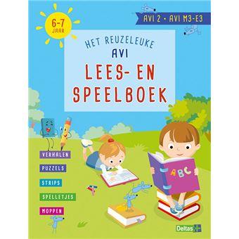 Het reuzeleuke AVI Lees- en speelboek (AVI 2 AVI M3-E3 6-7 jaar)