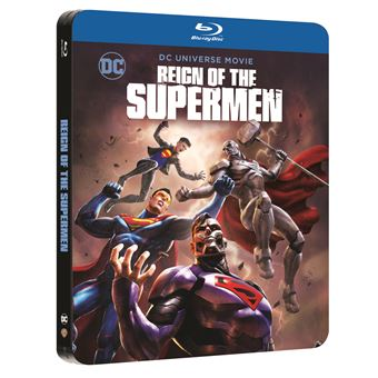 SupermanReign of the Supermen Steelbook Blu-ray