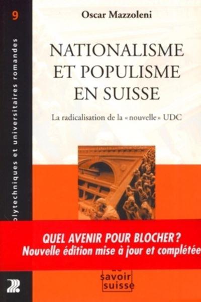 Nationalisme et populisme en Suisse
