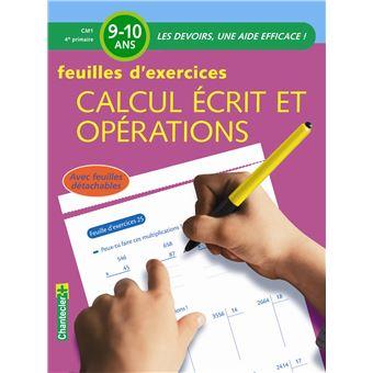 Calcul ecrit et operations cm1 - feuilles d'exercices ...