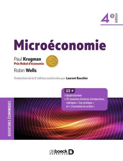 Microéconomie - 9782807324466 - 49,99 €